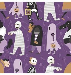 Halloween pattern 05 vector