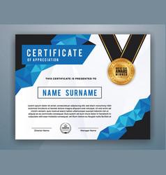 multipurpose modern professional certificate vector image