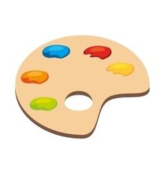 Palette art color vector