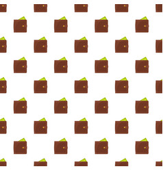 purse pay pattern seamless vector image