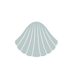 Scallop logo vector