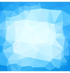 Triangle neutral blue and white abstract vector image