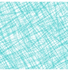 Seamless pattern with random cross lines texture vector image vector image