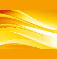 abstract elegant yellow background vector image