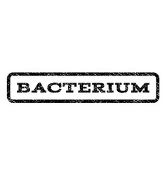 Bacterium watermark stamp vector