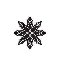 Baneberry black concept icon baneberry vector