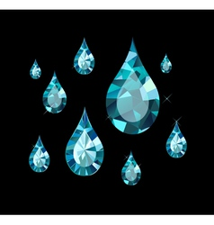 Diamond Drops vector