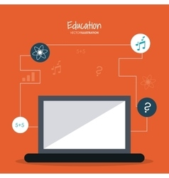Education learning school design vector