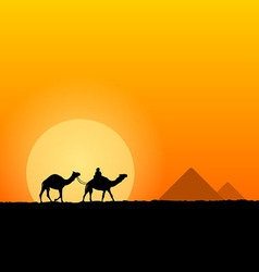 Hot African Scenery vector