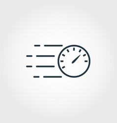 speed measurement icon from measurement icons vector image