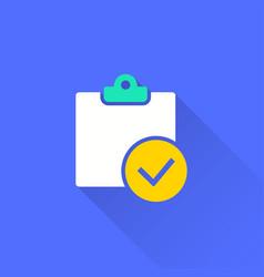 survey - icon vector image