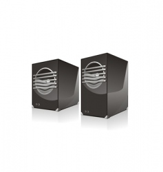 Two sub woofers vector