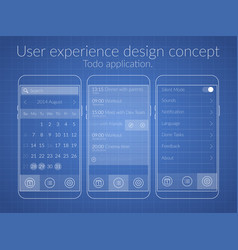 User design concept vector