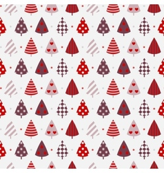 Winter celebration seamless background vector
