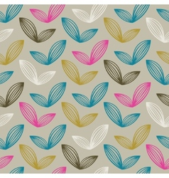 colorful abstract retro pattern 07 vector image