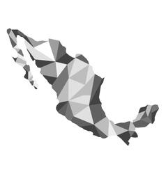 Map Mexico vector