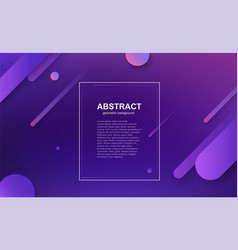 minimal geometric business background with vector image