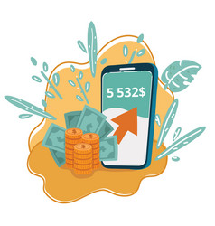 New digital money concept vector
