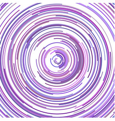 Psychedelic abstract curved line background vector
