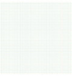 Square ruled notebook or exercise book page vector