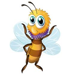 A big bee vector image