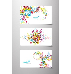 music tags vector image vector image