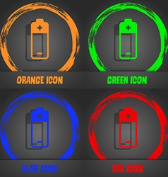 battery icon Fashionable modern style In the vector image