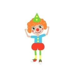 Boy Future Clown vector