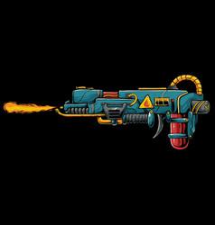 Fire gun vector