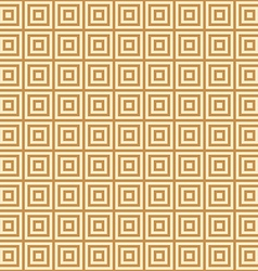 Golden square on a yellow background endless east vector