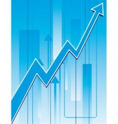 growth charts vector image
