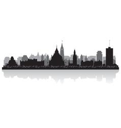 Ottawa Canada city skyline silhouette vector image