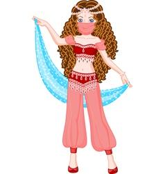 Princess Scheherazade vector image