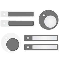 Sale Stickers - Tags vector image