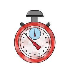 sport vintage chronometer vector image