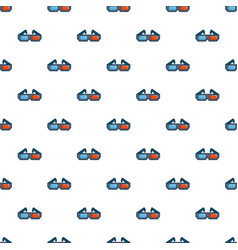 3d cinema glasses pattern vector