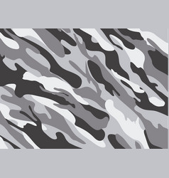 Camouflage pattern background shapes of foliage vector