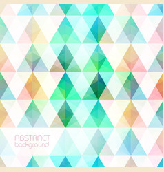 colorful light mosaic grid background vector image