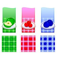 Fruit composition vector
