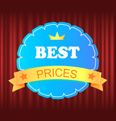 guarantee mark cheap and sale business vector image