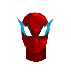 Hero mask on a white vector