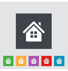 Home Icon vector image