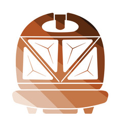 kitchen sandwich maker icon vector image