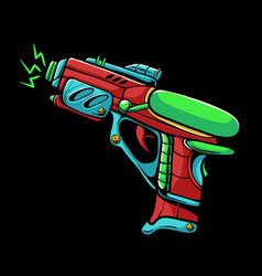 Space gun vector