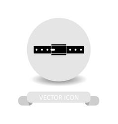 strap icon vector image