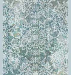 vintage baroque pattern beautiful ornament vector image