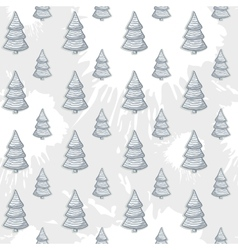 abstract with Christmas tree pattern on a vector image