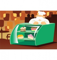 bakery store vector image vector image