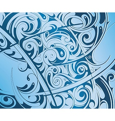 Backdrop with waves vector image vector image
