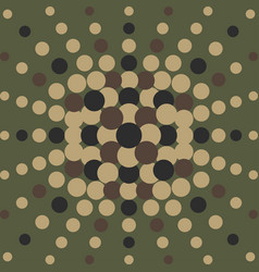 halftone pattern background dots texture retro vector image